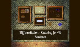 WCAT Differentiation - catering for all students