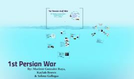 1st persian gulf war