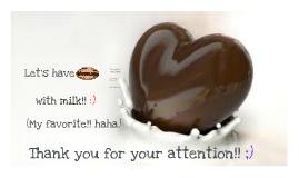 초콜릿에 관하여