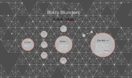 Bob Blunder