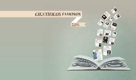 CIENTIFICOS FAMOSOS