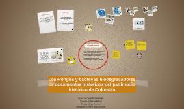 Copy of Los Hongos y bacterias biodegradadores del patrimonio histór
