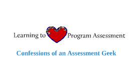 Learning to Love Program Assessment: Confessions of an Assessment Geek