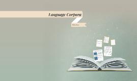 Language Corpora