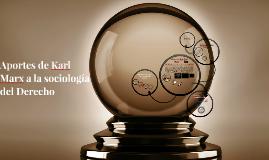Copy of Aportes de Karl Marx a la sociología del Derecho