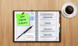 MNU-Tips: Cómo redactar tu discurso