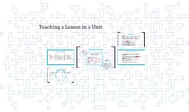 Lesson in a Unit