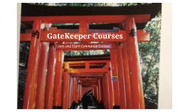 GateKeeper Presentation