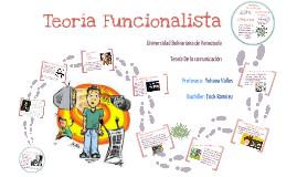 Copy of Copy of Teoría Funcionalista