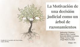 Motivación de una desición judicial