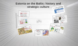 Estonia on the Baltic: history and strategic culture