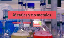 Metales y no metales
