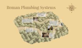 Roman Plumbing System