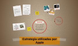 Estrategia utilizadas por Apple