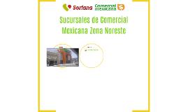 Sucursales de Comercial Mexicana Zona Noreste