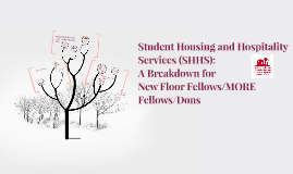 Student Housing and Hospitality Services (SHHS):