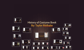 Copy of History of Costume Book
