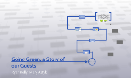 Copy of Going Green; a Story of our Guests