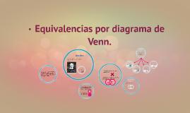 Copy of Equivalencias por diagrama de Venn