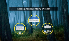 Sales and Inventory System