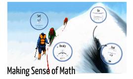 Making Sense of Mathematics