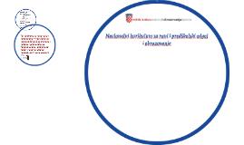 Nacionalni kurikulum za rani i predškolski odgoj i obrazovan