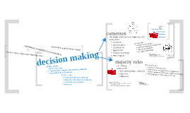 Copy of decision making
