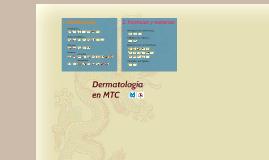 Dermatología en Medicina Tradicional China