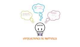 Copy of Aplicacion de Matrices en Administracion De Empresas Y Economia