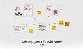 Các Nguyên Tố Phân Nhóm IVA