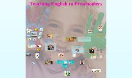 Teaching English to Preschoolers