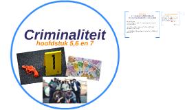 5. Overheidsbeleid (Criminaliteit)