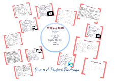 Copy of Web 2.0 Tools: Group A
