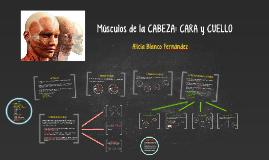 Copy of Músculos de la CABEZA: CARA y CUELLO