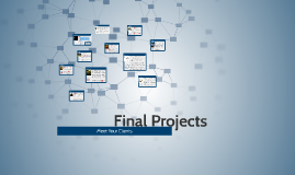 Final Projects