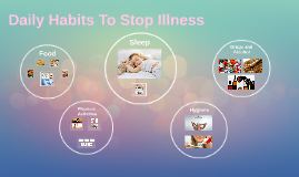 Daily Habits To Stop Ilness