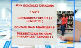 JENY GONZALEZ TARAZONA