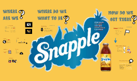 Re-branding Snapple