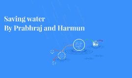 Humans waste water