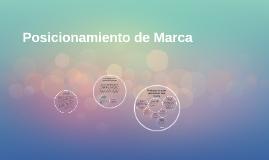 Copy of Posicionamiento de Marca
