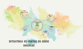 ESTRATEGIA DE VENTAS EN REDES SOCIALES
