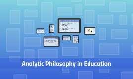 Analytic Philosophy in Education