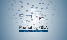 Promoting FBLA