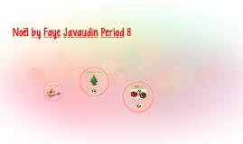 Noël by Faye Javaudin