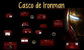 Casco de Ironman