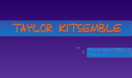 Taylor Kitsemble