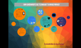 HOW GOVERNMENTS USE TECHNOLOGY TO INVADE PRIVACY