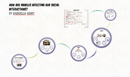 Copy of How Are Mobiles Affecting Our Social Interactions?