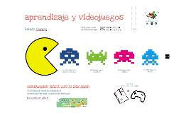 Aprendizaje y videojuegos (VI JIE UNAH dic 2015)