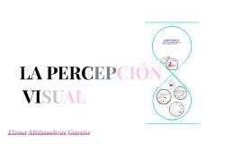 LA PERCEPCIÓN VISUAL